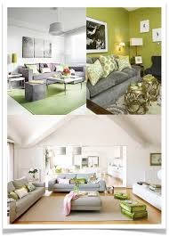10 rooms color post green and grey