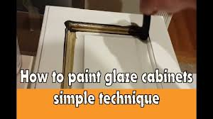 kitchen cabinet glazing techniques voluptuo us