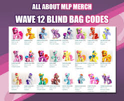 my pony purse wave 12 blind bag codes found mlp merch