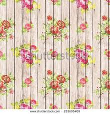 Flower Design For Scrapbook Digital Paper Scrapbook Light Brown Wood Stock Photo 223845196