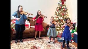 carol of the bells by grace unhae kwon violin studios youtube