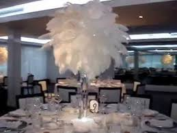 table centerpiece rentals great gatsby themed wedding centerpiece rentals at the harbor club