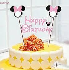 birthday cake decorations minnie mouse cake decorations ebay