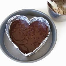 Halloween Cake Tins by Video Diy Disposable Baking Pans Heart Shaped Foil Pans
