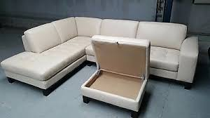 Freedom Ottoman by Liberty 3 Seat Leather Modular With Ottoman Freedom Bay