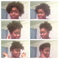 6 quick under 2 mins and easy styles for short natural hair