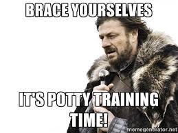 Potty Training Memes - potty training second rate mom