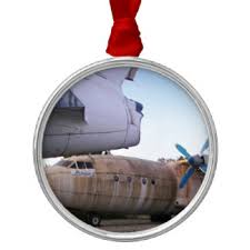 Round Top Metal Christmas Decorations 45 aeroplane round metal christmas decorations zazzle co uk