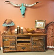 Longhorn Decorating Ideas Western Decor Rustic Tables Southwestern Furniture Agave