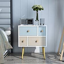 amazon com lifewit modern nightstand side end table for bedroom