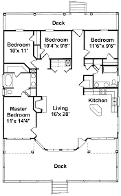 56 one story floor plans one story ranch house plans inside 4