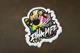 mitsubishi sticker design zillalife x deathtune