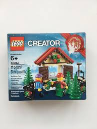 lego seasonal christmas tree stand set 40082