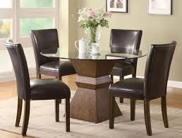 round kitchen table sets ideas black panel window curtains brown