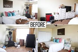 Bedroom Before And After Makeover - master bedroom makeover honeybear lane