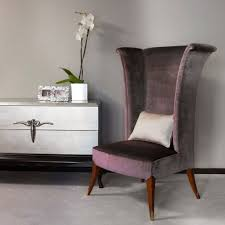 living room comfortable dining room chairs high back wing chair