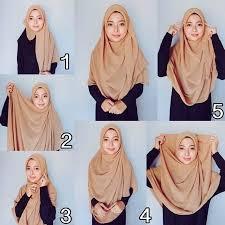 tutorial hijab pashmina untuk anak sekolah 48 cara memakai kerudung pashmina hijab tutorial 2017