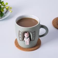 online shop jingdezhen original design brand handmade mug cartoon