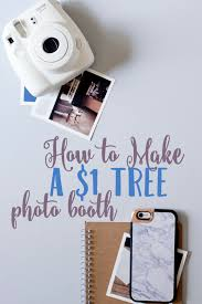 how to make a photo booth how to make a cheap diy photo booth sweet days