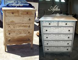 a 1920 u0027s dresser revamped painted it with gray chalk paint then