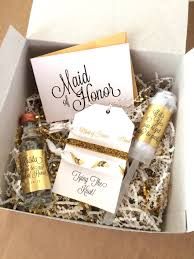 will you be my of honor gift personalized bridesmaid gift box sets will you be my of