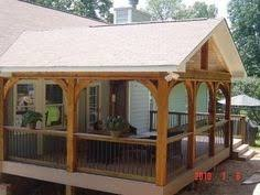covered back porch designs covered back porch gabled off roof pinteres