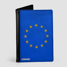 The European Flag European Flag Passport Cover Airportag