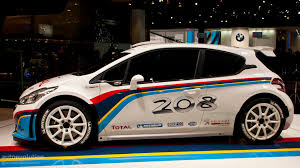 car peugeot 208 paris 2012 peugeot 208 type r5 rally car live photos