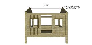 Free Diy Log Furniture Plans by Free Diy Furniture Plans How To Build A Full Sized Cabin Loft