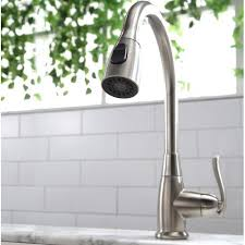 kraus premium faucets pull down single handle kitchen faucet