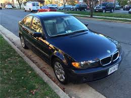 2004 bmw 325i 4 dr sedan manual transmission orient blue