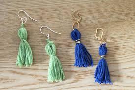beginner earrings diy tassel earrings and crafters