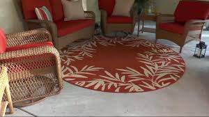 Qvc Outdoor Rugs Tommy Bahama Indoor Outdoor Fern Rug On Qvc Youtube