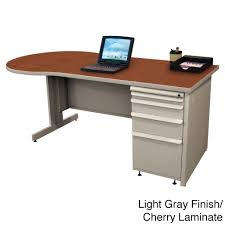 gray desks u0026 hutches sears