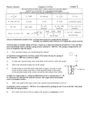 unit 2 practice test physicshonors 1 form test chapter4and7 do
