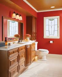 Spa In Bathroom - trending in bathroom decor bold color in spa inspired designs