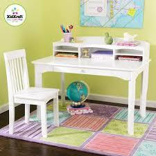 kidkraft avalon desk set with hutch and chair white walmart com