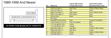 2001 chevy impala radio wiring diagram with chevy impala radio