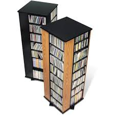 spinning media storage tower free shipping today overstock com