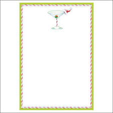 cocktail by caspari invitation