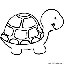 cute animal kids coloring free download