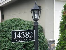 light post with address sign 20 elegant l post address sign best home template