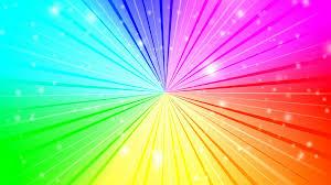 retro rainbow colored dots rotating animation background motion
