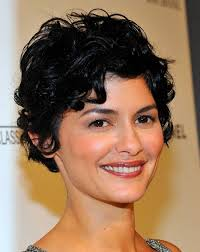 easy hairstyles for short curly hair women over 40 cute women