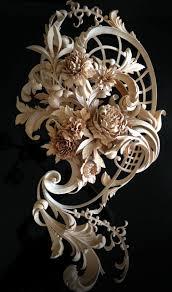 carved flowers custom ornamental wood carving best wood