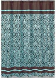 Turquoise And Brown Curtains For Guest Bathroom Turquoise And Brown Bathroom Fabric