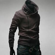 assassin u0027s creed men u0027s slim oblique zipper sweater coat jacket