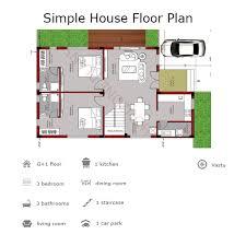 simple floor 2 simple house floor plans houzone