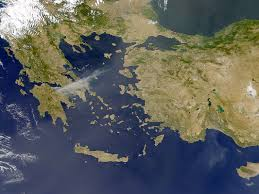 Blank Map Of Ancient Greece Greece Ancient World History