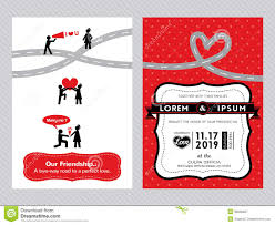 id card sle template wedding invitation card template stock vector image 38506627